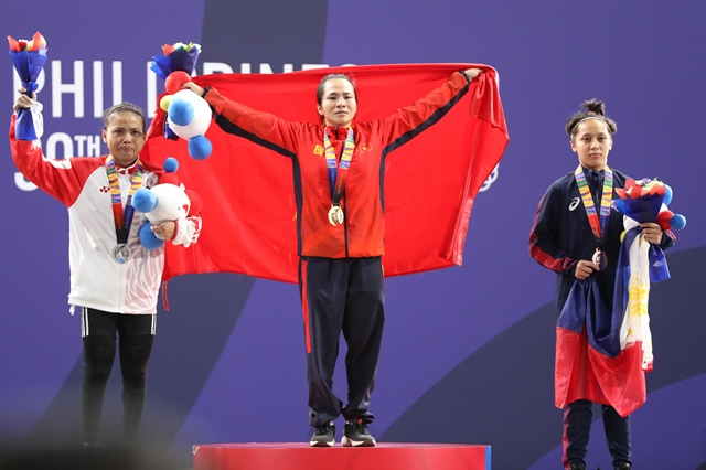 Việt Nam bag 10 golds in first day of SEA Games