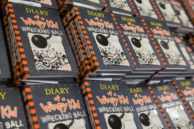 Great day for losers: Wimpy Kid author gets French medal