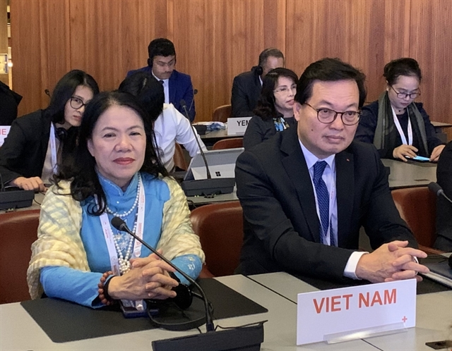 Việt Nam active at 33rd conference of Red Cross  Red Crescent