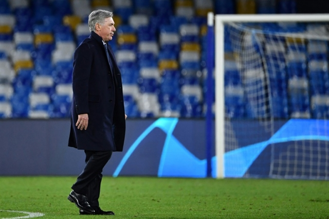 Ancelotti sacked despite guiding Napoli to Champions League last 16