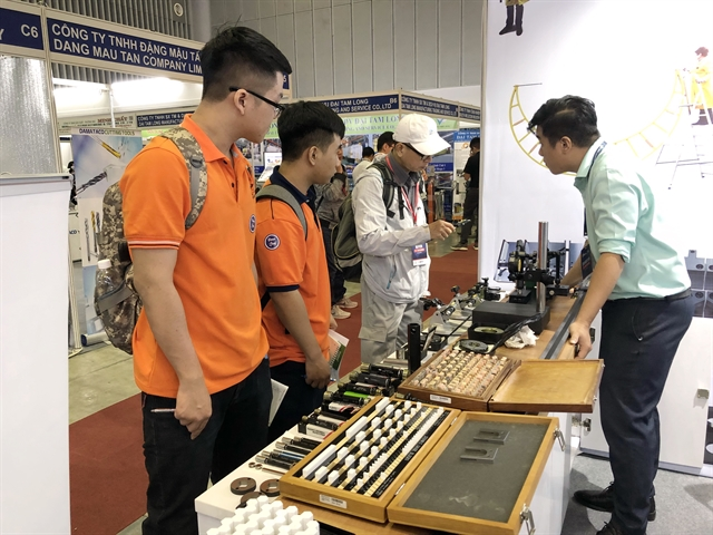 International machinery supporting industry fairs open in HCM City