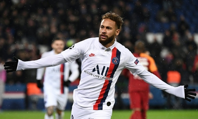 Neymar makes impression as PSG crush Galatasaray