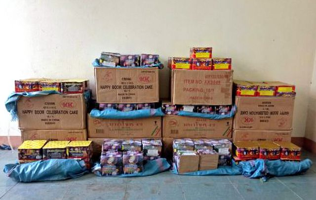 Kon Tum police seize big haul of firecrackers