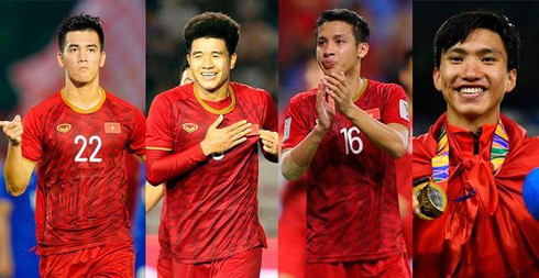 Four Vietnamese footballers named in Best 11 of SEA Games