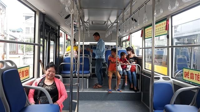 Vĩnh Phúc modernises bus system