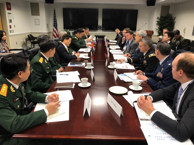 Việt Nam US hold defence policy dialogue