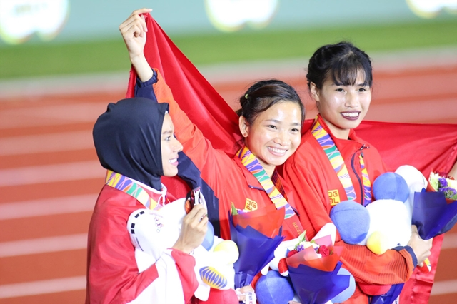 Tiny Oanh stands tall for Việt Nam at SEA Games