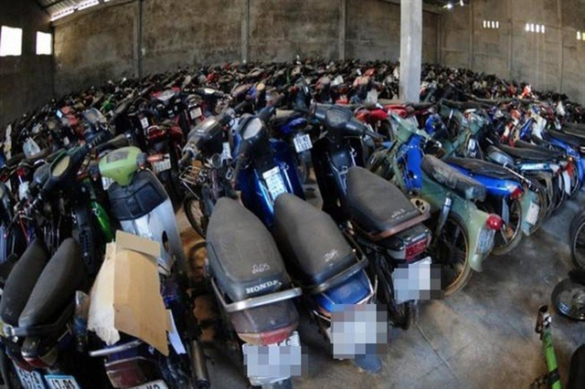 Police propose auctioning seized vehicles