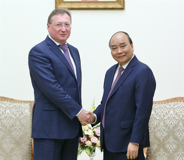 Việt Nam prioritises oil and gas cooperation projects with Russia: PM