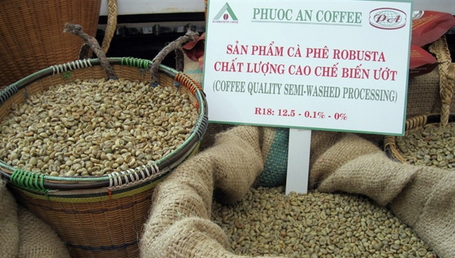 Coffee price crisis hits Vietnamese export value