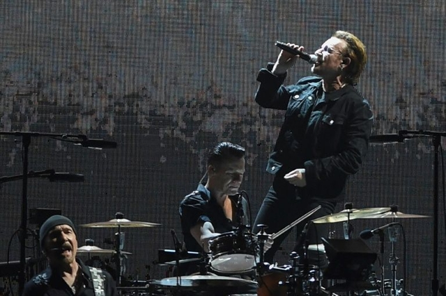 U2 play their first-ever concert in India