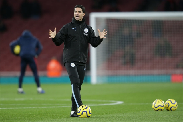 Man City wont stand in way of Arteta joining Arsenal - reports