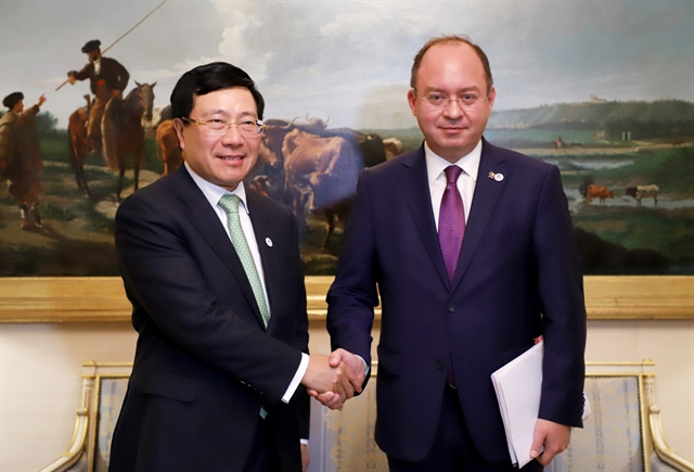 Việt Nam boosts bilateral multilateral ties at ASEM FMM14