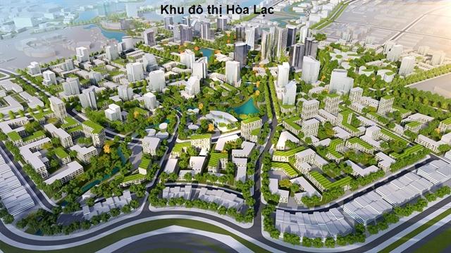 Hà Nội satellite urban areas take slow formation