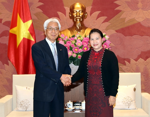 VN Japan agree to enhance exchanges between parliamentarians