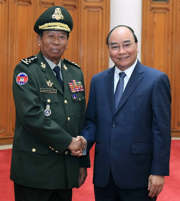 Cambodian Lao Myanmardefence officials welcomed in Hà Nội
