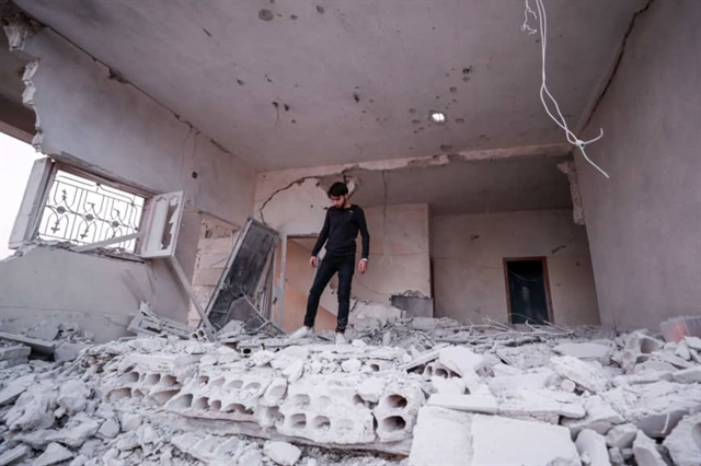 Nearly 70 dead in clahes between govern forces and Idlib militants in Syria