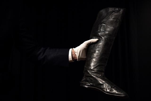 Napoleons boots walk tall at Paris auction