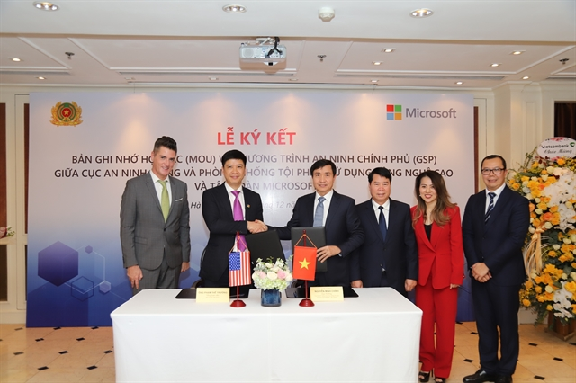 VN to join Microsofts network security protection programme