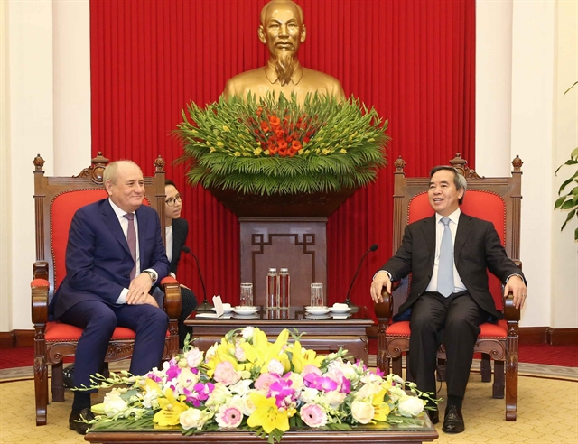 VN eyes further tie with Gazprom: Party official