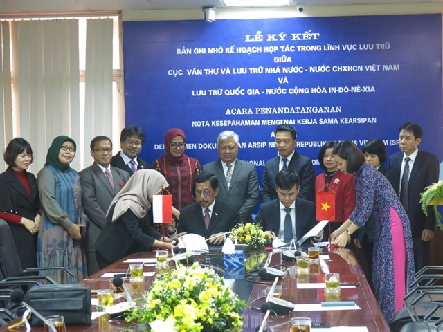 Việt Nam Indonesia strengthen co-operation in archives