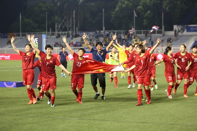 Việt Nam womens team prepare for Olympic qualifiers