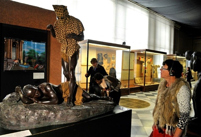 Belgiums Africa museum drops tour guide after race row