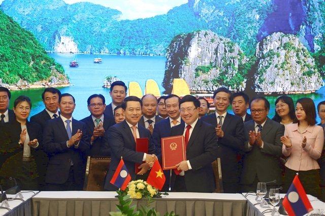 Việt Nam Laos hold sixth ministerial consultation