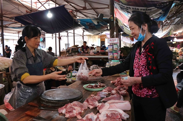 Agriculture minister calls for stable pork prices
