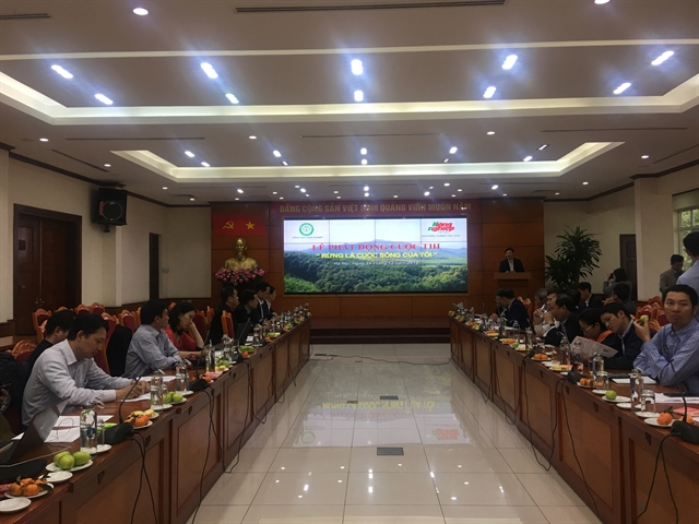 Việt Nam Administration of Forestry launches contest promoting forest development and protection