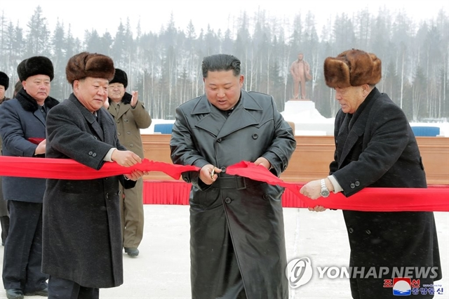 N.K leader visits Samjiyon ahead of year-end deadline for nuke talks with Washington