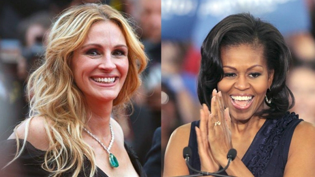 Julia Roberts to join Michelle Obama for trip to Việt Nam