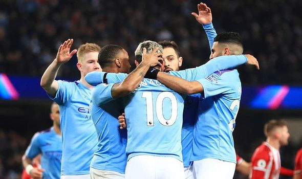 Aguero De Bruyne class sees tired Man City past Sheffield United