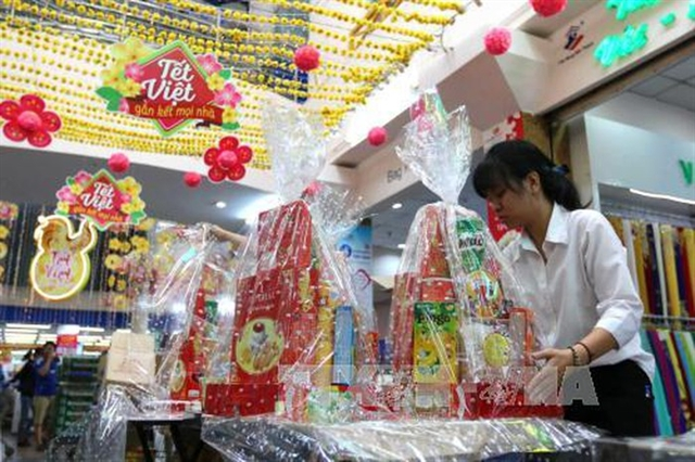 Tết gift hampers popular item at year-end