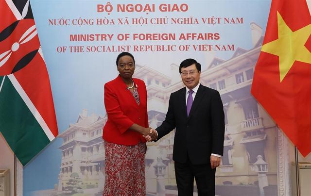 VN Kenya agree on measures to boost ties