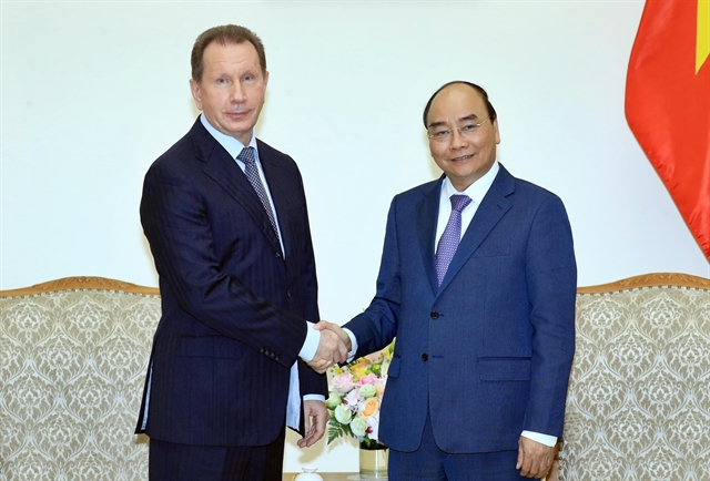 PM welcomes director of Russias National Guard