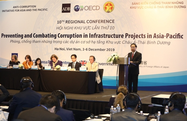 Experts gather to discuss anti-corruption