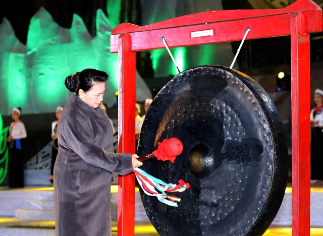 NA leader attends opening of Hoà Bình culture tourism week
