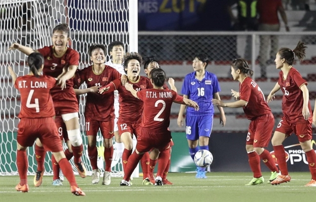 Việt Nam beat Thailand 1-0 to defend SEA Games title