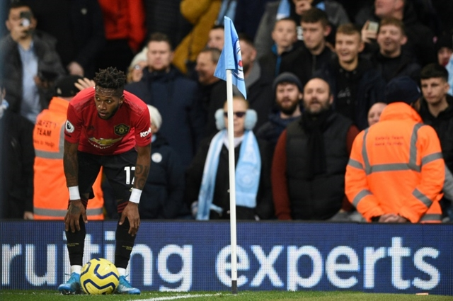 Man arrested over racist gesture at Manchester derby