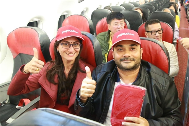 Vietjet launches direct flights on Việt Nam-New Delhi routes