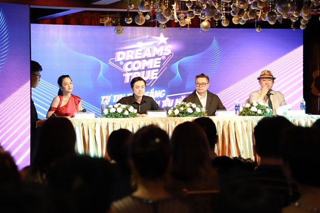 Online audition contest Dream Come True to seek Vietnamese talents