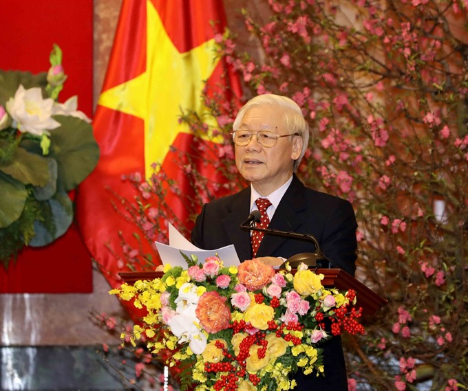 Party State leader extends greetings on Year of Pig