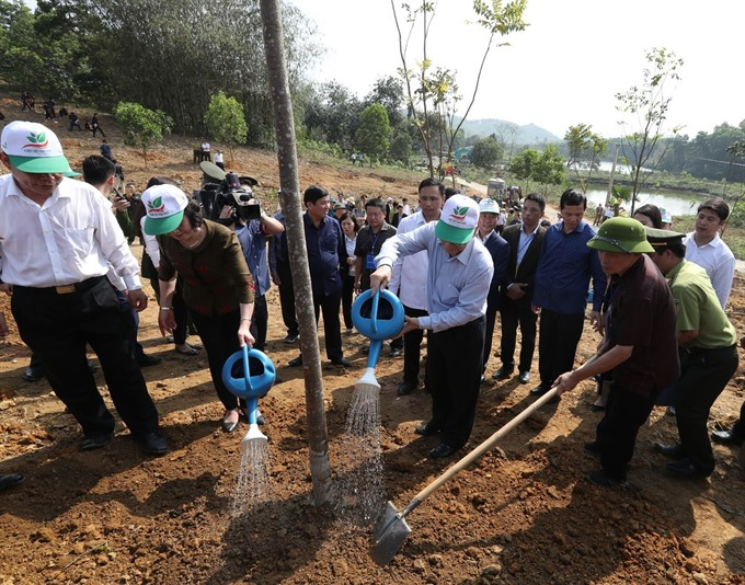 Party State leader launches Tết tree planting festival in Yên Bái