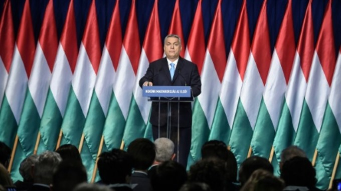 Hungarys Orban vows defence of Christian Europe