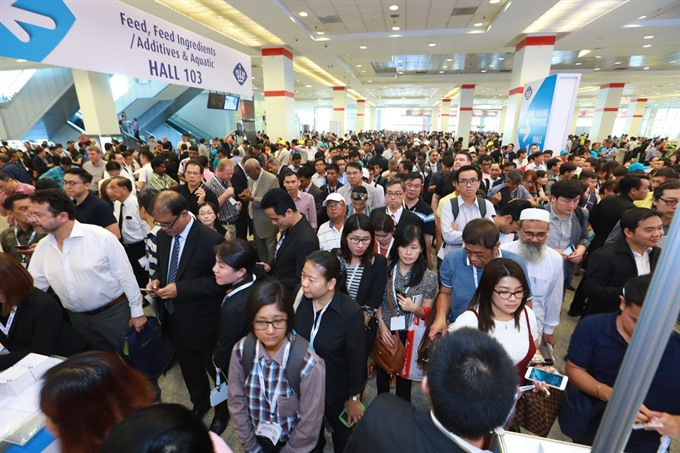1250 leading companies to showcase products at feed-to-food expo VIV Asia