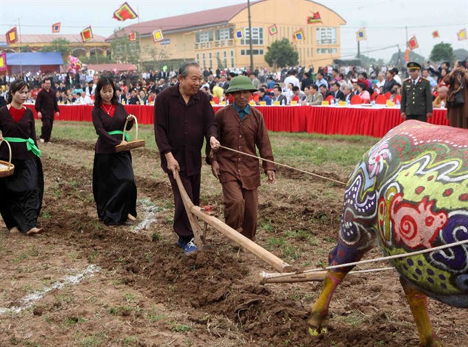 Deputy PM joins traditional agriculture festival