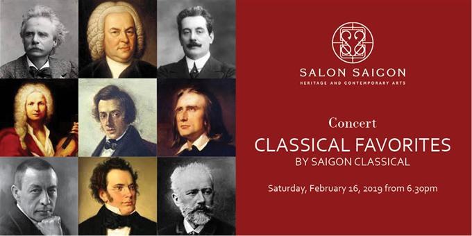 Classical favorites at Salon Saigon