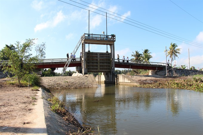 Mekong Delta provinces set to upgrade irrigation systems