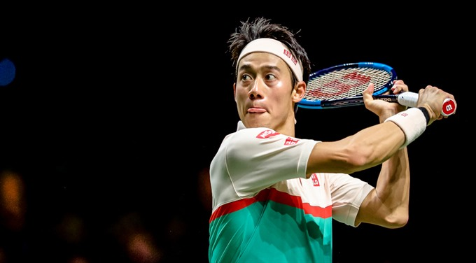 Nishikori rallies to overcome tough Rotterdam opener